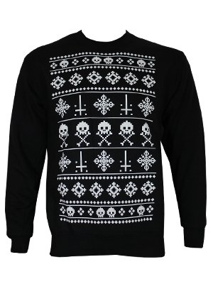 grindstore alternative christmas sweater