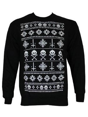 grindstore alternative christmas sweater